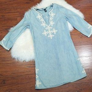 Lucky Brand Jean Boho Dress